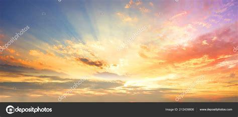 celestial world concept sunset sunrise clouds stock photo