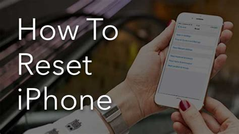 what happens when you reset your iphone how to factory reset your iphone nektony
