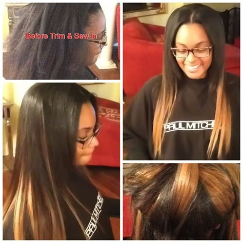 18 Inch Sew In Hairstyles by Sew In 16 18inch My Client Extensions