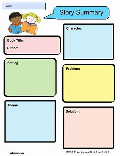 Organizer Graphic Summary Story Write Examples Ipad