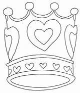 Crown Coloring Princess Pages Tiara Template Queen Crowns Purim King Queens Drawing Birthday Colouring Templates Printable Royal Getcolorings Getdrawings Idea sketch template