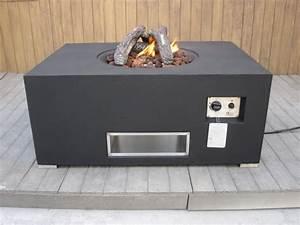 Gas Feuerstelle Outdoor : tisch mit gas feuerstelle klimaanlage und heizung ~ Michelbontemps.com Haus und Dekorationen