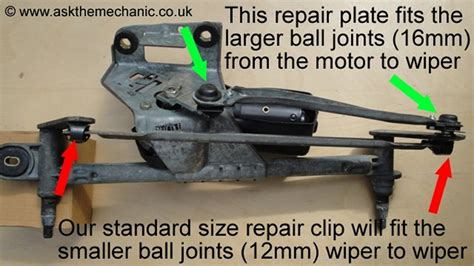 Renault Scenic Worn Wiper Linkage