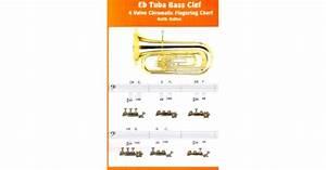Euphonium Chart Eb Tuba Bass Clef Chart