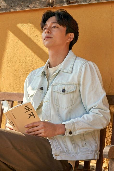 What has our coffee prince been up to? トッケビ:「Gong Yoo (공 유)」の画像(投稿者:Eno さん)   コンユ, 半袖