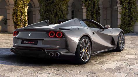 Aquí se visualizan todas las imágenes del automóvil descapotable ferrari 812 gts 2020 con 800 caballos. Ferrari 812 GTS 2020: el convertible más rápido del mundo | Lista de Carros
