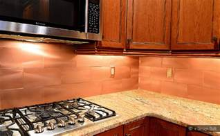 kitchen copper backsplash copper color large subway backsplash backsplash kitchen backsplash products ideas
