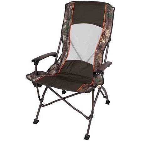 ozark trail high back mesh c chair green camo walmart
