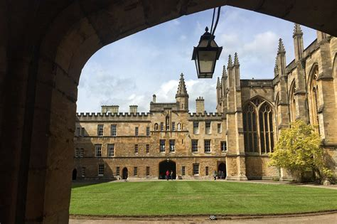 New College  Must See Oxford University Colleges Things