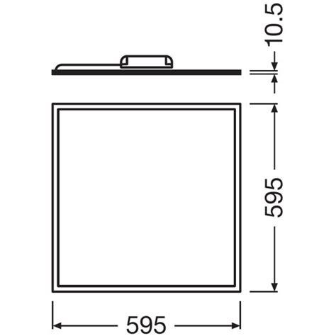 40w dimmable led light panels osram ledvance panel led 600 40w 6500k 230v