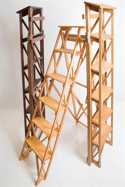 Wooden Stepladder ? Sylvanus Woodcraft