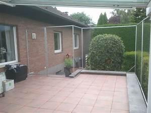 Terrasse in bottrop mit katzennetz system gesichert for Katzennetz terrasse