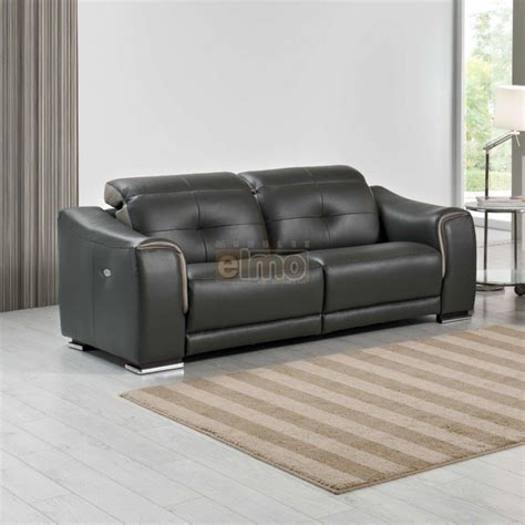 canape relax 3 places relax canap 233 relaxation moderne 3 places cuir noir cobra
