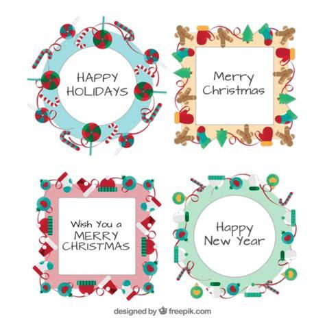 Decorazioni Per Cornici Decorazioni Di Natale Cornici Template Pack Scaricare