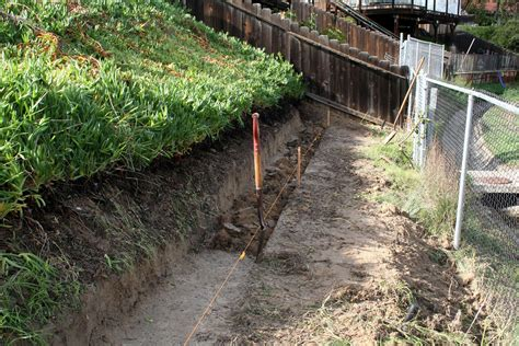 how to terrace a hill retaining walls thistledog s farm