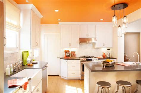 orange kitchen island photo page hgtv 1219