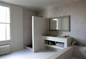 Beton Cire Bad : beton im bad ~ Indierocktalk.com Haus und Dekorationen