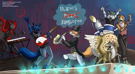 Halloween Town Characters Pictures by Ych Commission Fnaf Ulario S Pizza Jamboree By Ulario On