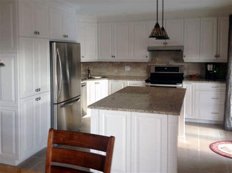 armoire de cuisine blanche terrebonne armoires de cuisine j daigneault inc