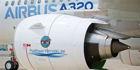 mtu aero delivers purepower pw1100g jm geared turbofan engine to airbus wings journal