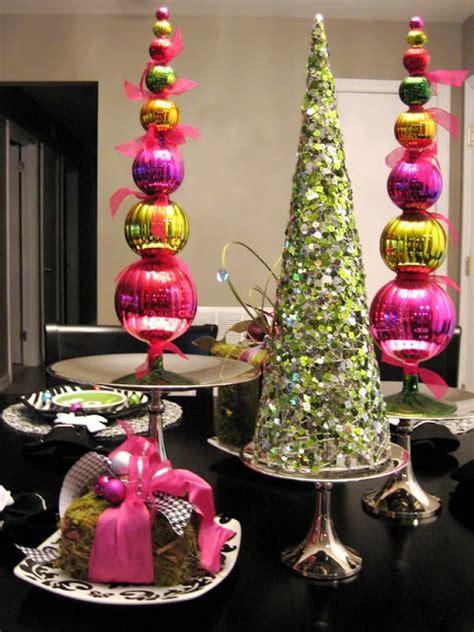 Modern Tabletop Decor, Diy Christmas Table Decoration