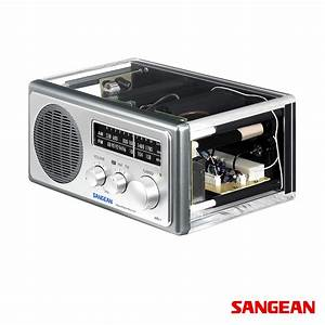 Analog AM FM Clear Table -0 Top Radio Sangean