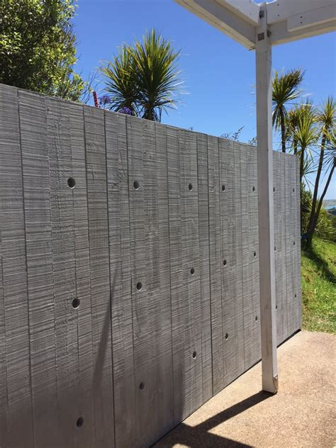 attractive retaining wall makeover  grc cladding panels eboss