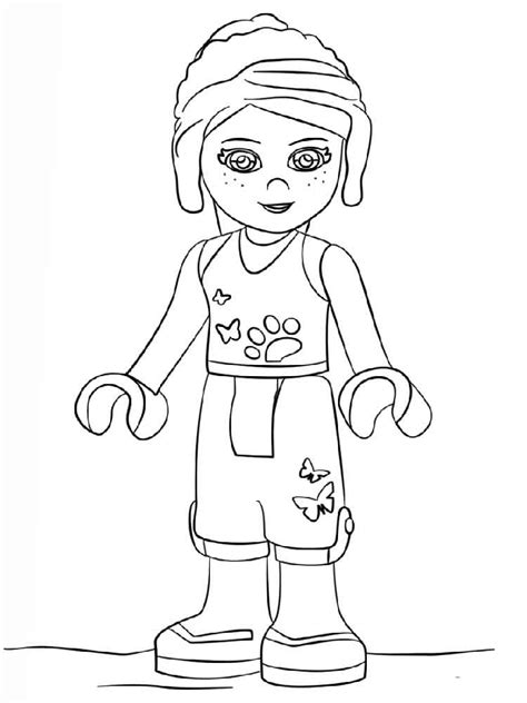 Lego Friends coloring pages. Free Printable Lego Friends ...