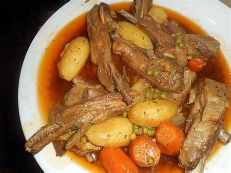 cuisiner poitrine d agneau recette de poitrine d agneau en ragout