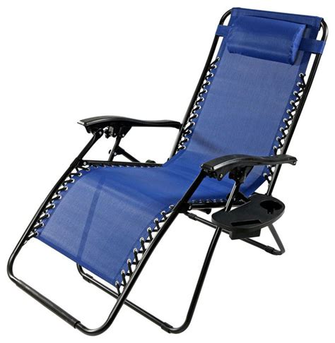 sunnydaze oversized zero gravity lounge chair with pillow