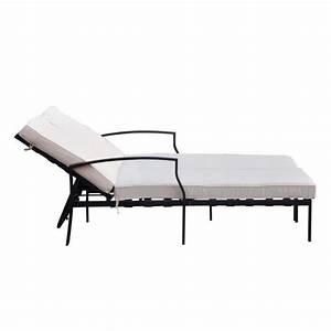 Chaise Longue 2 Places : chaise beige pas cher cheap chaise design pour salle a manger et pas cher miliboo chaise salle ~ Teatrodelosmanantiales.com Idées de Décoration