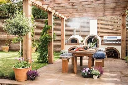 Garden Mediterranean Outdoor Fencing Kitchen Landscaping