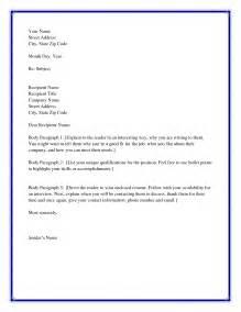 Best Salutation For Cover Letter Formal Business Letter Format