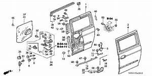Sliding Door Parts  2006 Honda Odyssey Sliding Door Parts