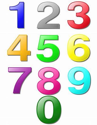Clipart Digits Marbles Numbers Clip Printable Digit