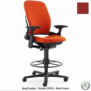 Steelcase leap drafting stool shop steelcase leap for Leap chair steelcase