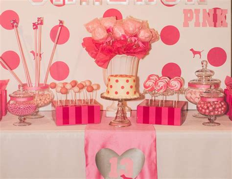 "Victoria's Secret Pink  Birthday ""cameron's Vs Pink 13th"