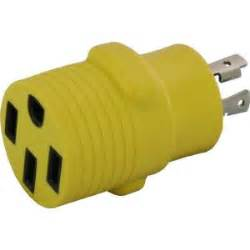 locking adapter nema l14 30p 30 amp 125 250 volt 4 prong