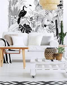 Fresque Murale Papier Peint : papier peint magn tique et aimant blog d co clem around the corner ~ Melissatoandfro.com Idées de Décoration