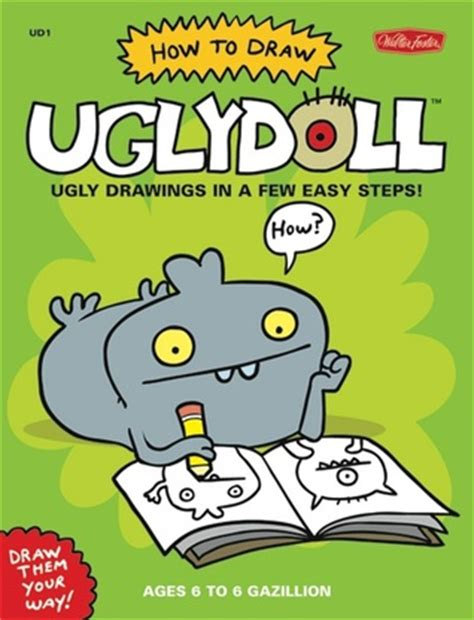 draw uglydoll ugly drawings    easy steps  david horvath