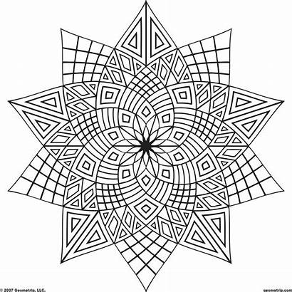 Coloring Cool Colouring Teenagers Adult Printable Patterns