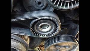 How To Replace Belt Tensioner Idler Adjusting Pulley 97