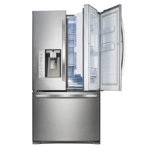 Samsung Counter Depth Refrigerator Home Depot by Lg 23 8 Cu Ft Counter Depth Door In Door Refrigerator