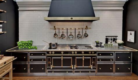 piano de cuisine occasion cuisinière en acier inoxydable château 165 by la cornue