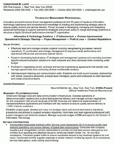 sle resume for telecom sales executive sle sales resume