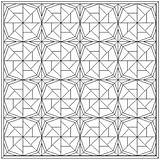 Quilt Coloring Patterns Block Pattern Pages Wheel Fortune Quilting Blocks Pinwheel Quilts Colouring Month Printable Blank Fish Paper Line Straw sketch template
