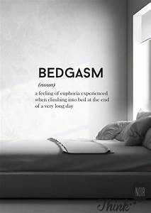Quote Wall Decal ''Bedgasm''/ Home Wall Art / by ThinkNoir ...