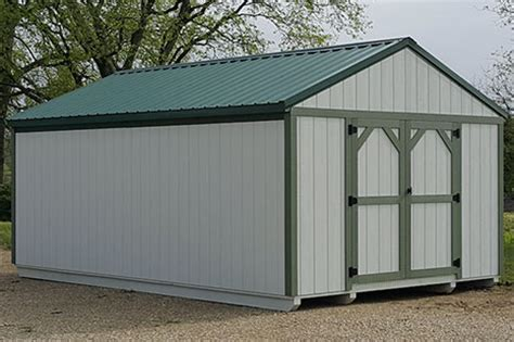 storage sheds barns ohio cricket valley structures