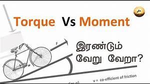 Torque Vs Moment in Tamil - YouTube  Torque