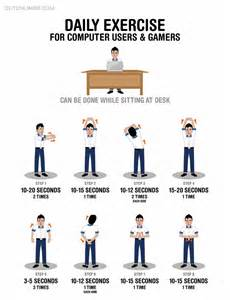 Desk Stretching Exercises at Work
